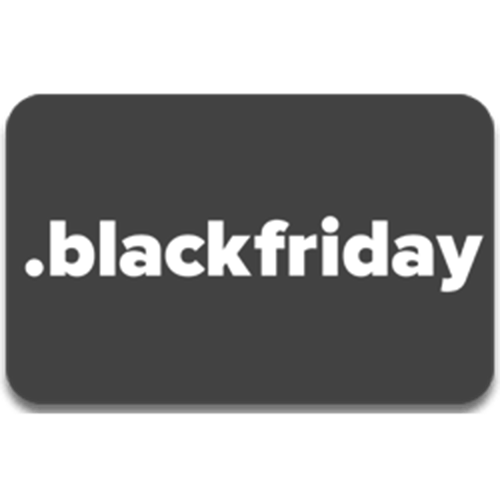 Register domain in the zone .blackfriday