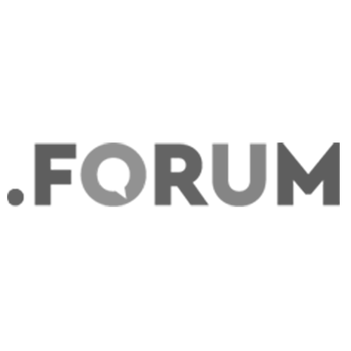 Register domain in the zone .forum