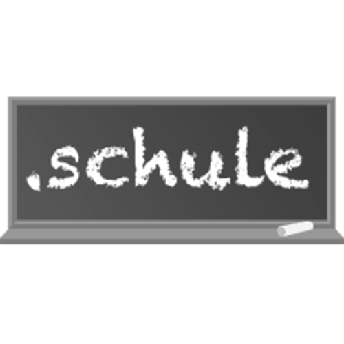 Register domain in the zone .schule