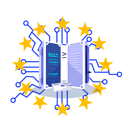 Dedicated server in Europe